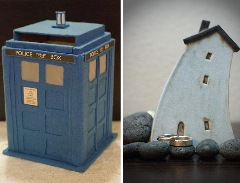 Tardis Wedding Card Box Tardis Card Box