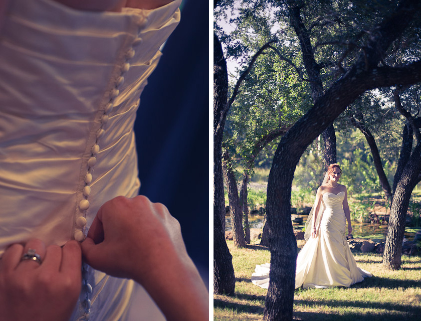 bridal photographs spicewood vineyard