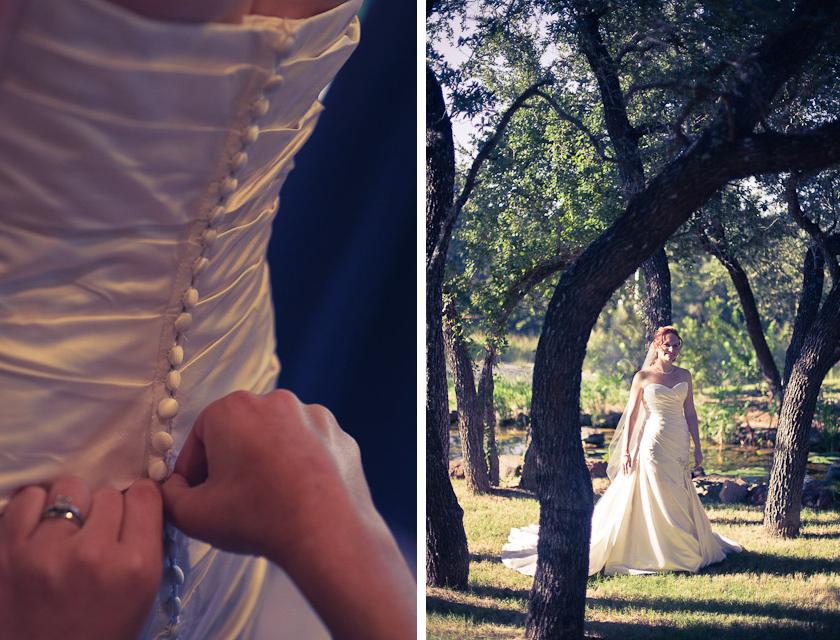 bridal photographs spicewood vineyard