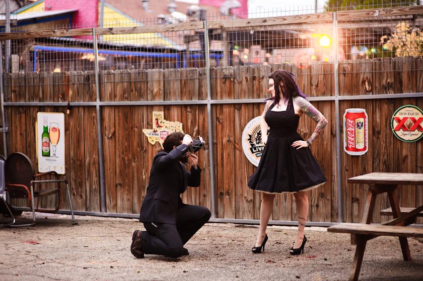 ... Austin Wedding Photographer At Spiderhouse Cafe ...