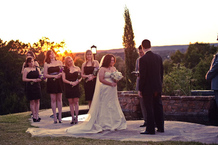 a view from the lookout - austin wedding photographer