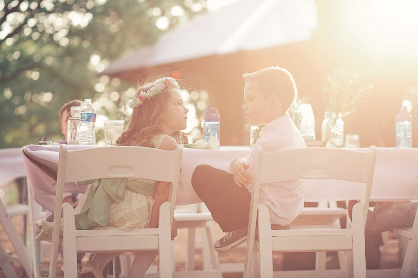 sunshine and children