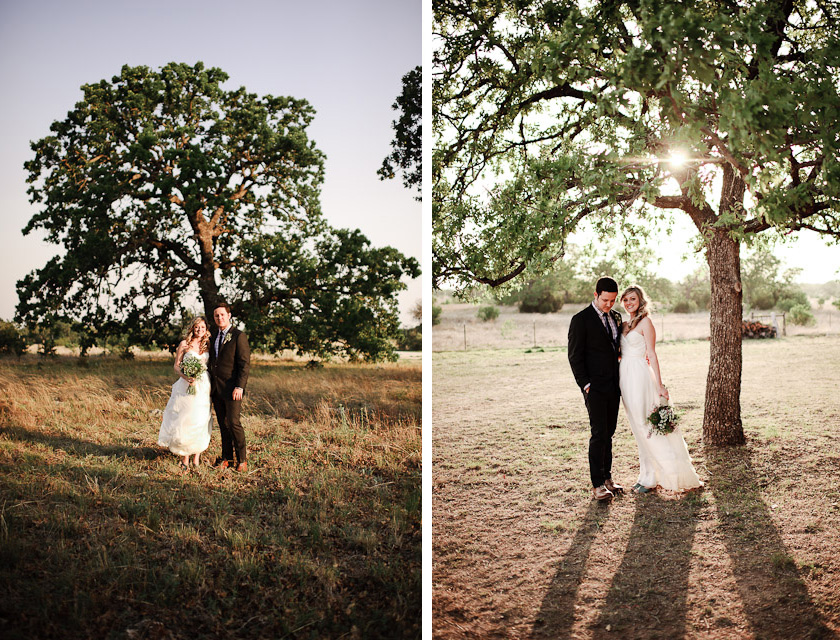 bride and groom portraits at three points ranch