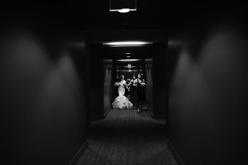 at the w hotel austin wedding