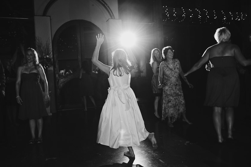 dancing during the reception