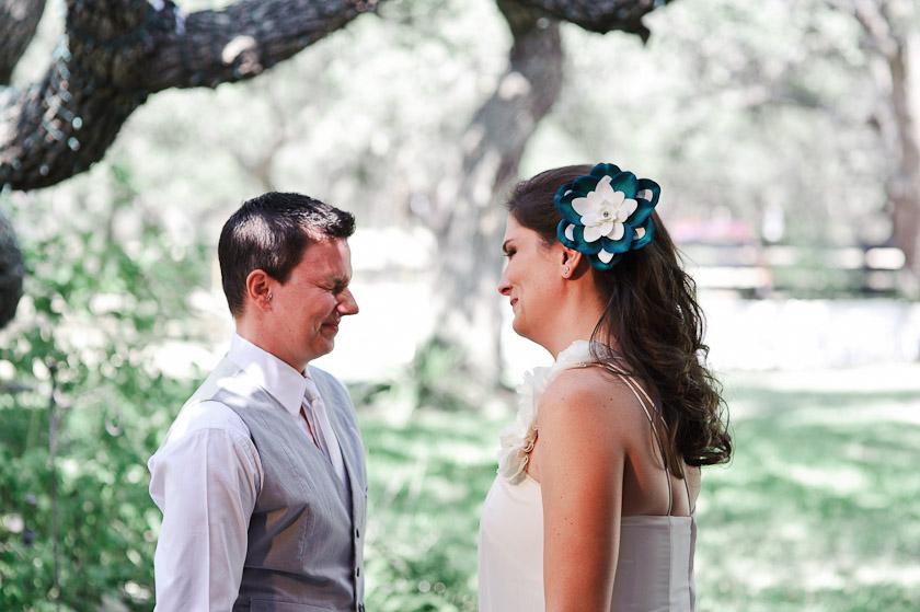 summer wedding in texas