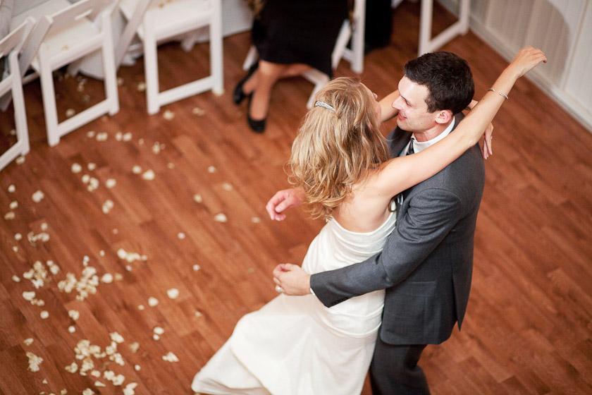 bride running into groom