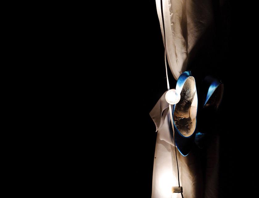 shoe shot in the dark