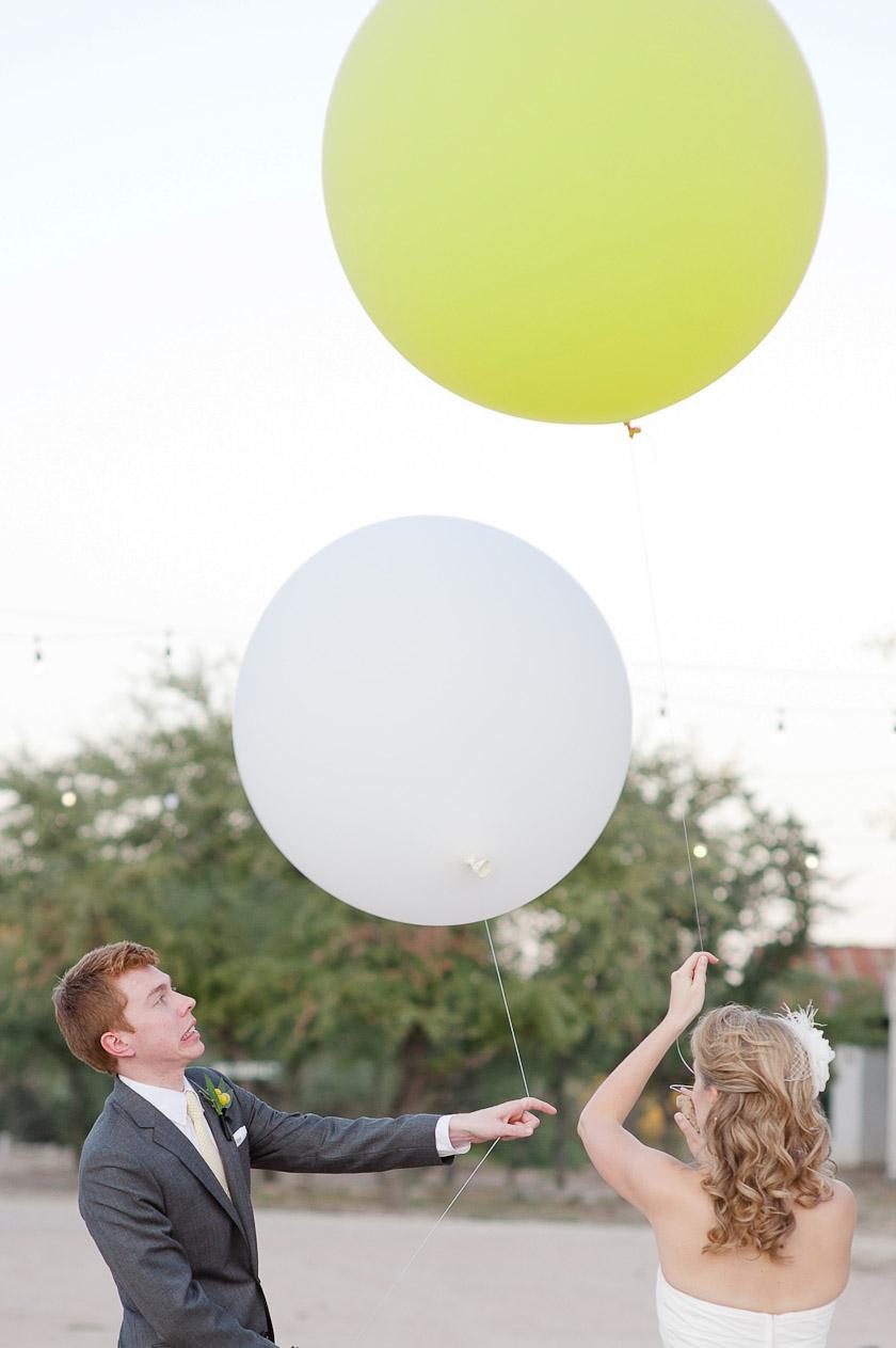 Giant Balloons in weddings