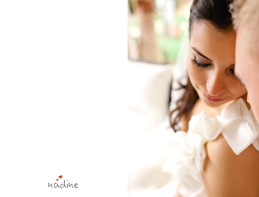 the beautiful bride at an austin wedding
