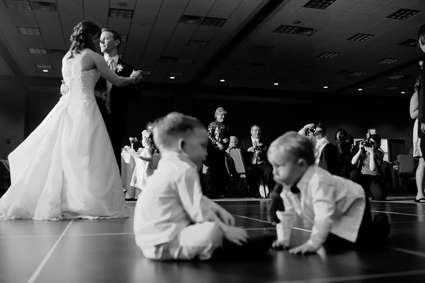 dancing during reception