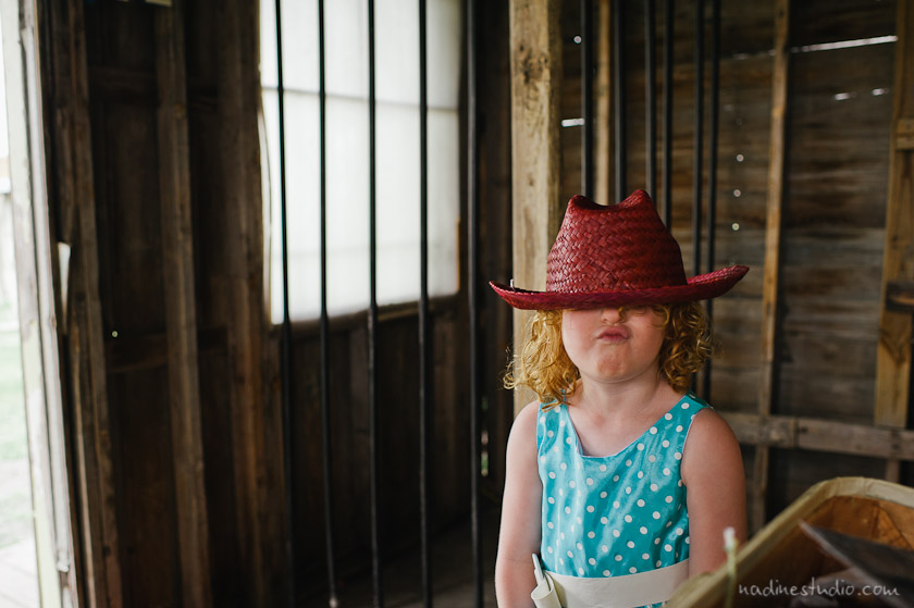 flower girl and ghost town jail