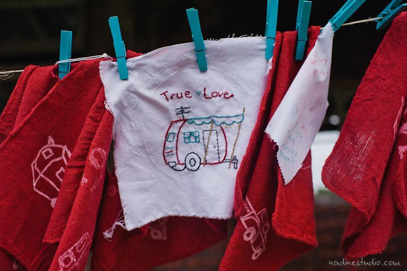 true love trailer quilt