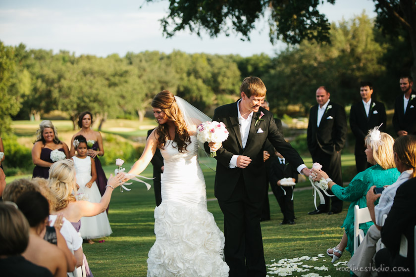 wedding at a country club