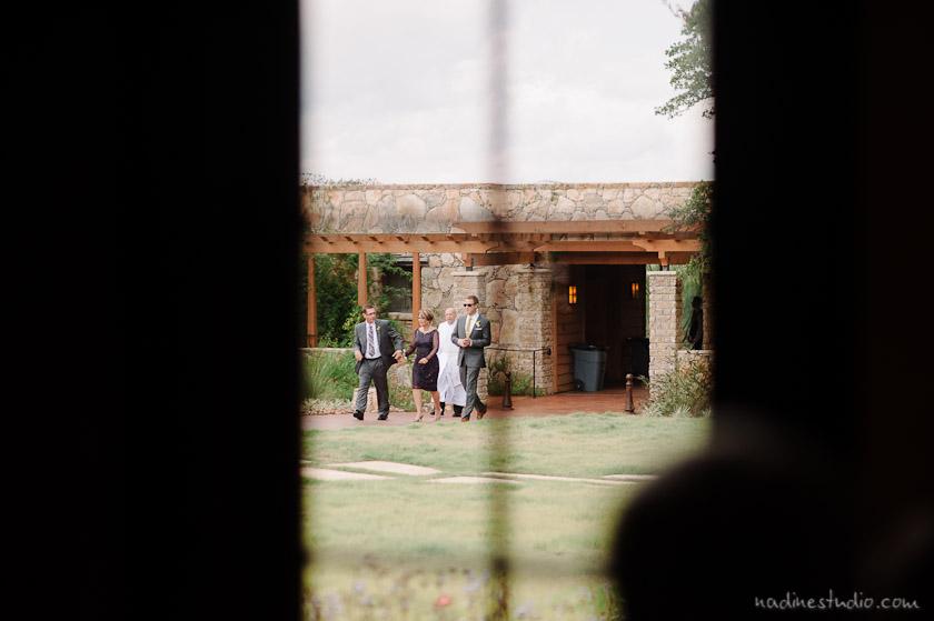 shot through the chapel window