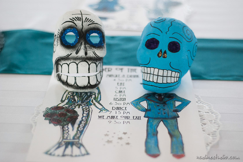 skulls day of the dead