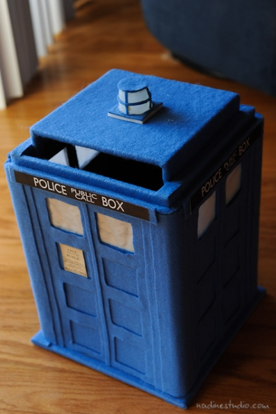 Tardis Card Box Tutorial Diy Tardis Model Plans Austin