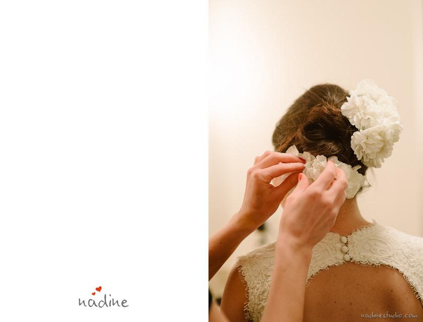 flowers in bride