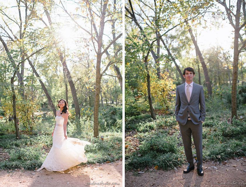 umlauf sculpture garden wedding austin wedding photographers austin wedding photographers