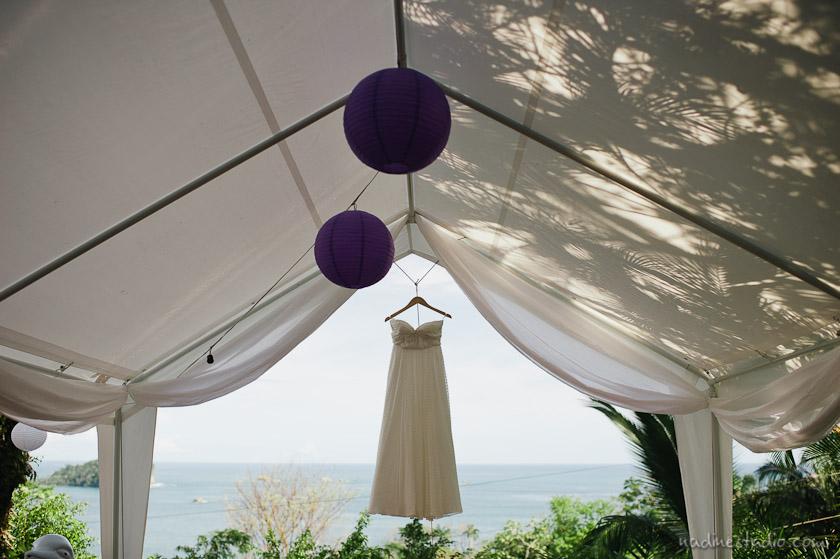 wedding dress at la mansion inn