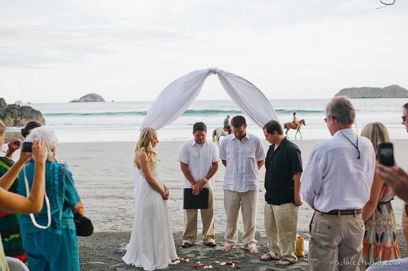 ceremony at manuel antonia