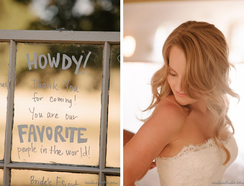 lovely woman in wedding dress