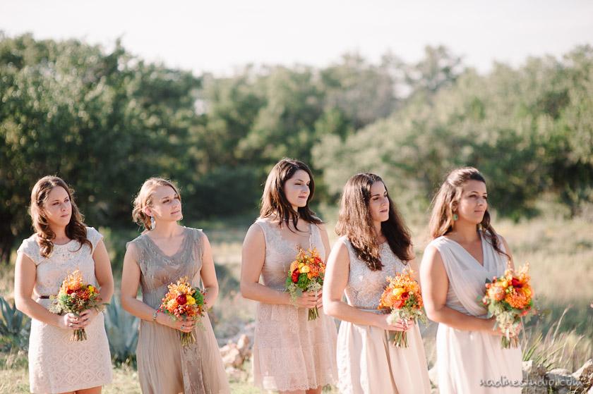 bridesmaids vintage dresses
