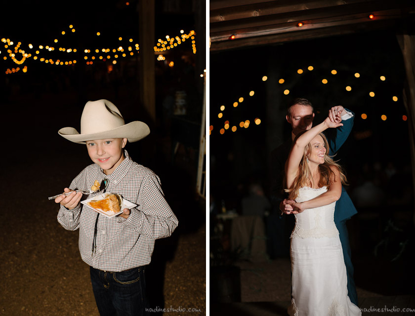 reception at three points ranch