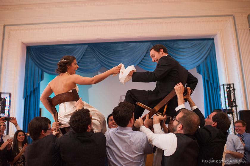 dancing the hora or horah