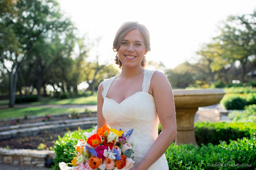 bridal sessions and protraits in the hill country