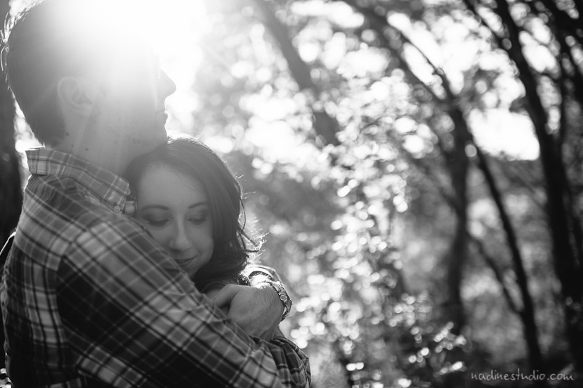 austin engagement photos in town lake