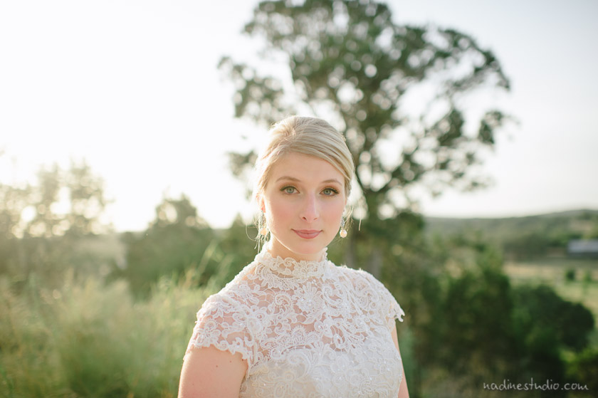 camp lucy bridal portraits