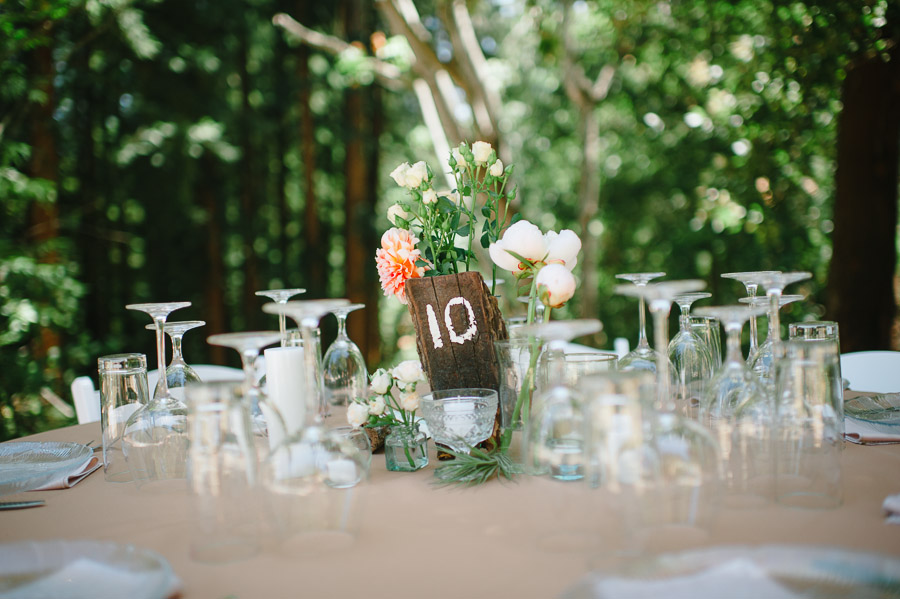 place setting in california