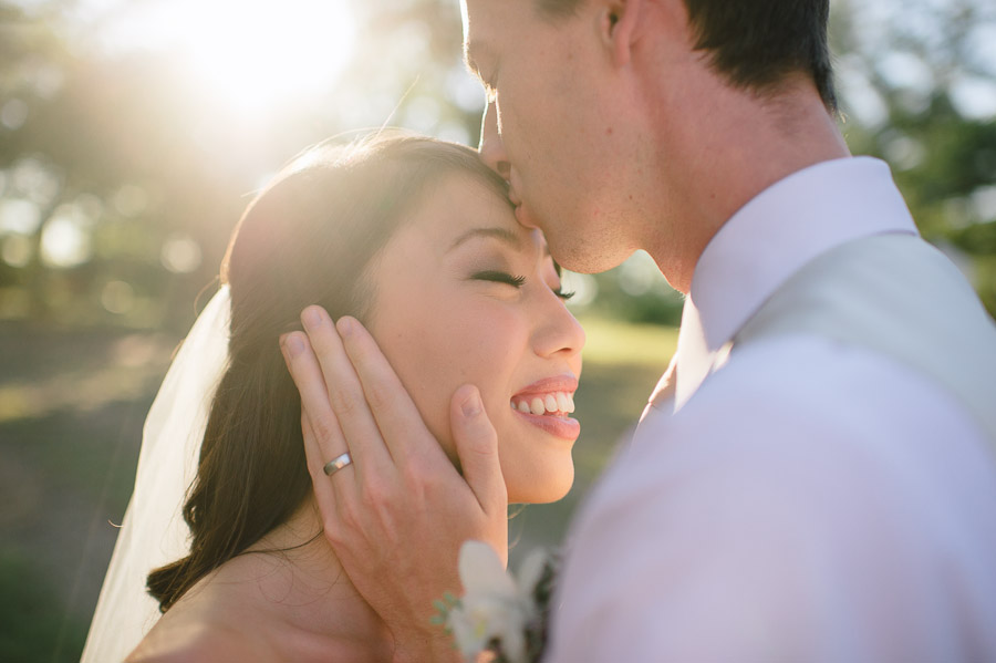 bride and groom portraits at kindred oaks