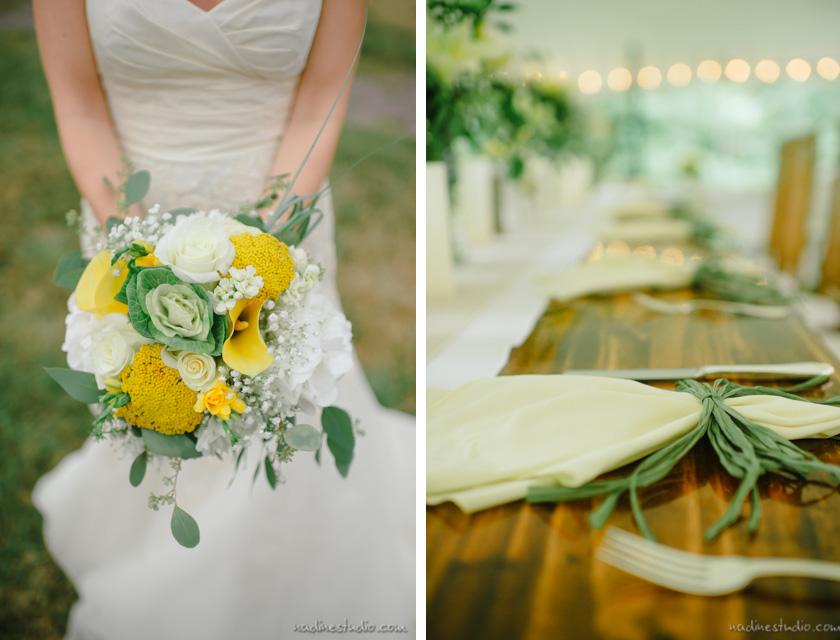 bouquet rustic decor