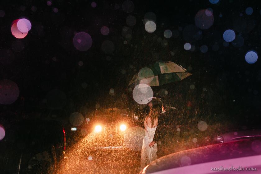 rain exit