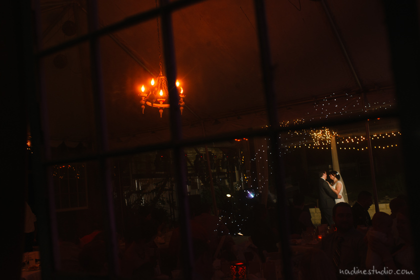 dancing through a window pane first dance