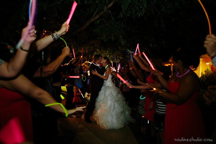 glow stick exit