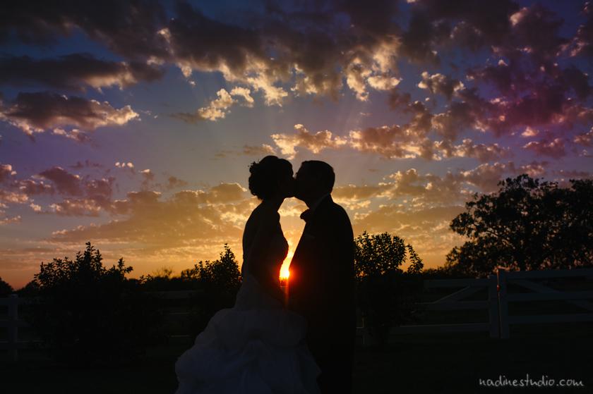 sunset sillouette
