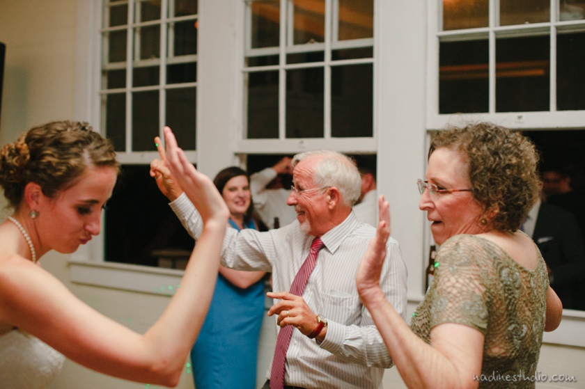 reception dancing at star hill ranch
