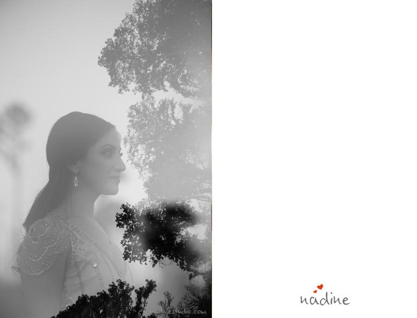 black and white bastrop wedding