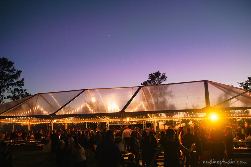 sunset bastrop wedding
