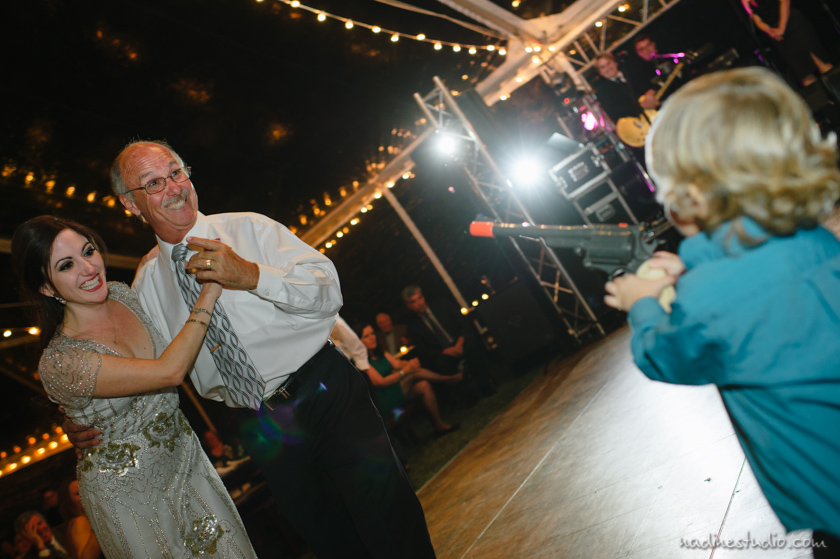 funny father and daughter dance