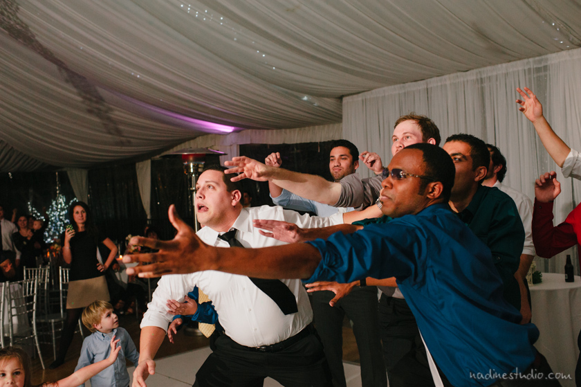 garter toss catch