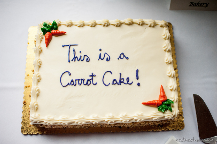 this is a carrot cake