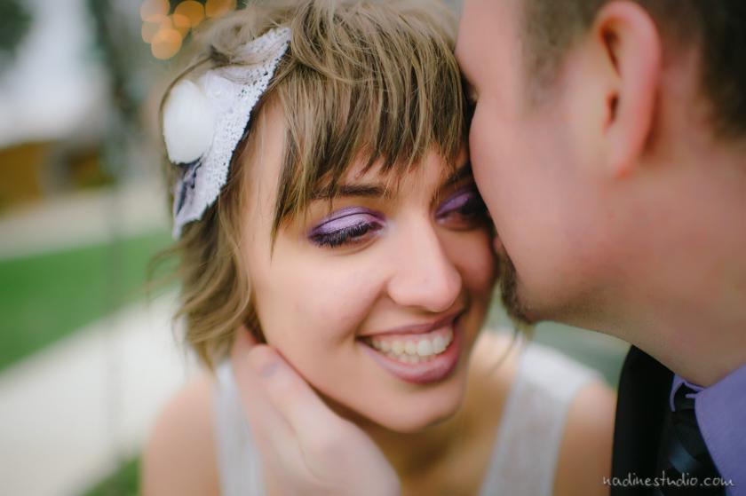 improv bridal portraits