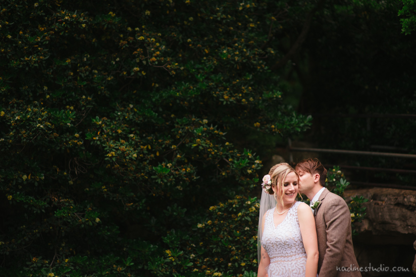 zilker botanical gardens elopement