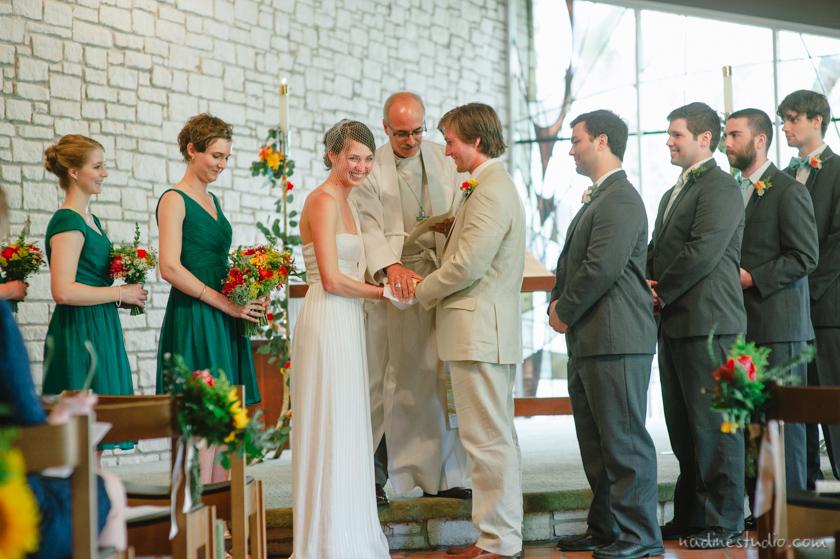 seminary wedding