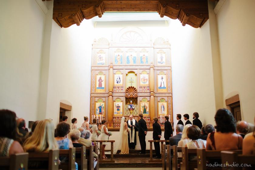 ceremony at unm alumni chapel
