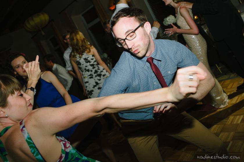 dancing at hotel andaluz